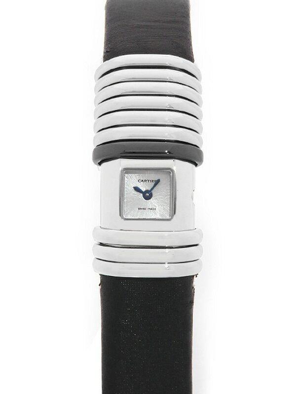 【Cartier】【電池交換済】カルティエ『デクラレーション』WT000730 レディース クォーツ 3ヶ月保証【中古】