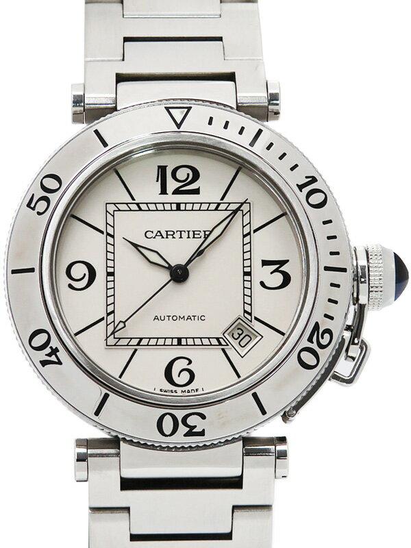 【Cartier】【仕上済】カルティエ『パシャ シータイマー』W31080M7 メンズ 自動巻き 3ヶ月保証【中古】