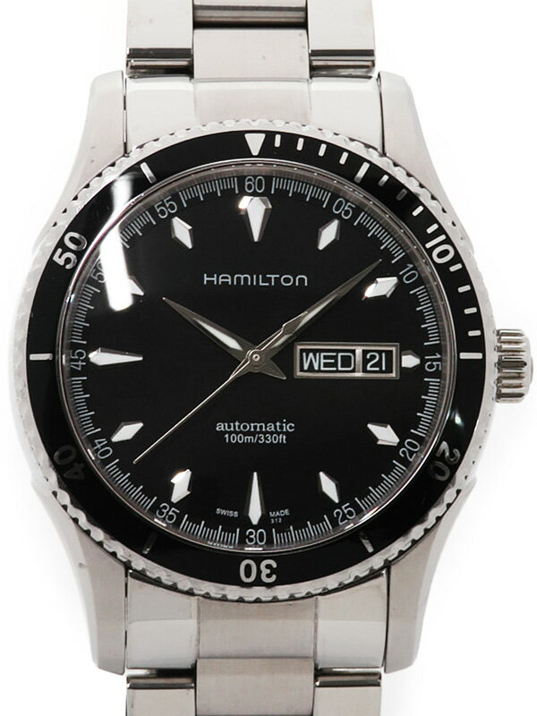 【HAMILTON】【裏スケ】ハミルトン『ジャズマスター シービュー』H37565131 メンズ 自動巻き 1ヶ月保証【中古】