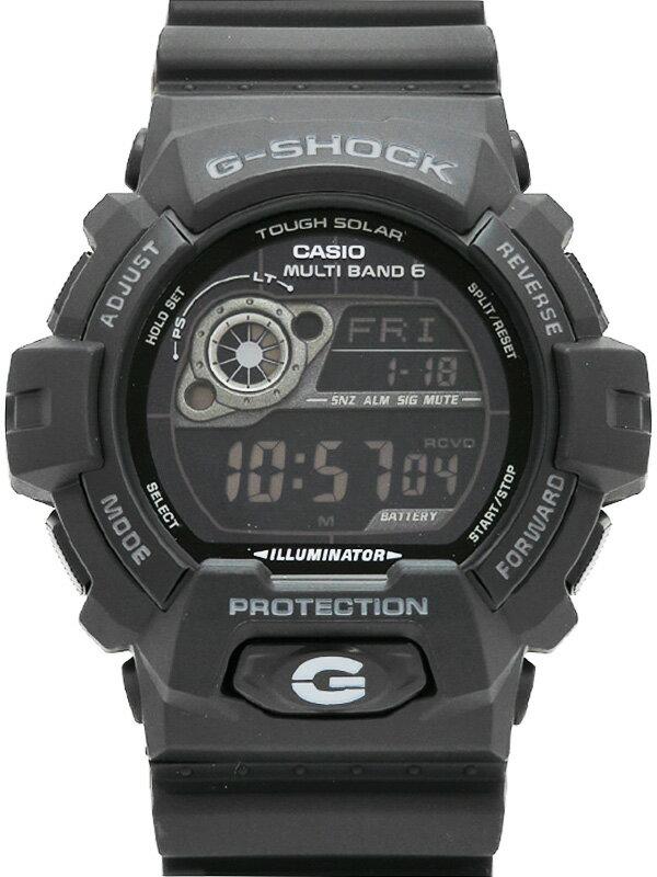 【CASIO】【G-SHOCK】【美品】カシオ『Gショック』GW-8900A-1JF メンズ ソーラー電波クォーツ 1週間保証【中古】