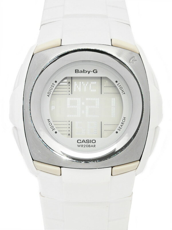 【CASIO】【Baby-G】【電池交換済】カシオ『ベビーG カスケット』BG-1221-7V レディース クォーツ 1週間保証【中古】