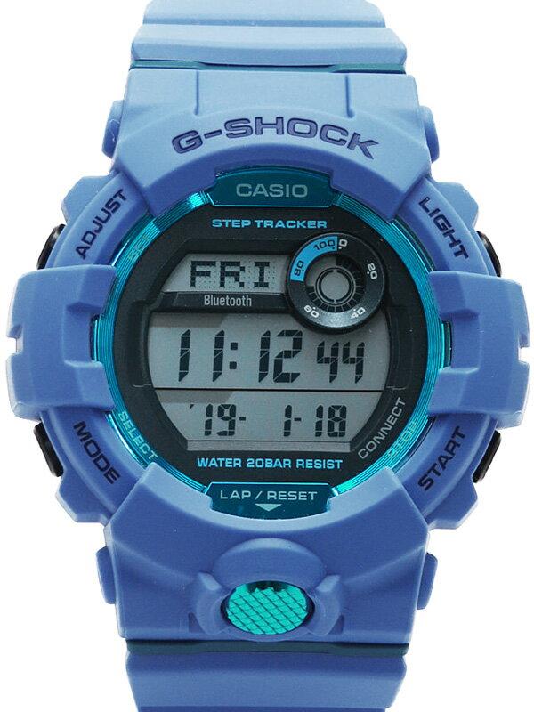 【CASIO】【G-SHOCK】【モバイルリンク】カシオ『Gショック ジースクワッド』GBD-800 メンズ クォーツ 1週間保証【中古】