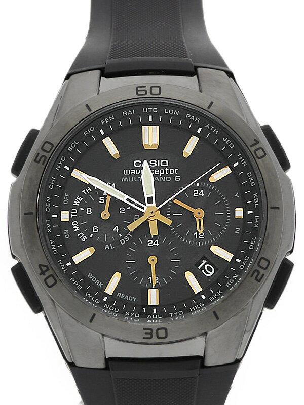 【CASIO】カシオ『ウェーブセプター』WVQ-M410B-1AJF メンズ ソーラー電波クォーツ 1週間保証【中古】