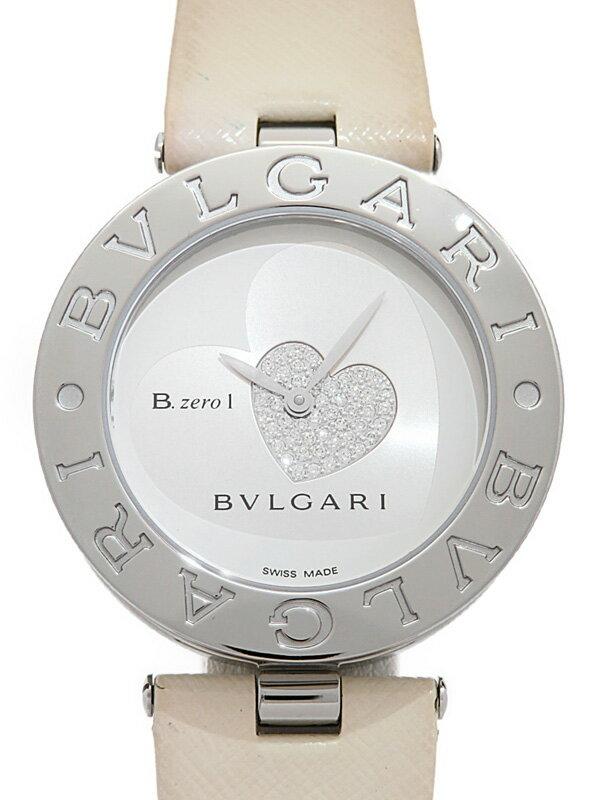 【BVLGARI】【'18年メーカーコンプリートサービス済】【仕上済】ブルガリ『B-zero1 ビーゼロワン ダブルハート』BZ35S レディース クォーツ 1ヶ月保証【中古】
