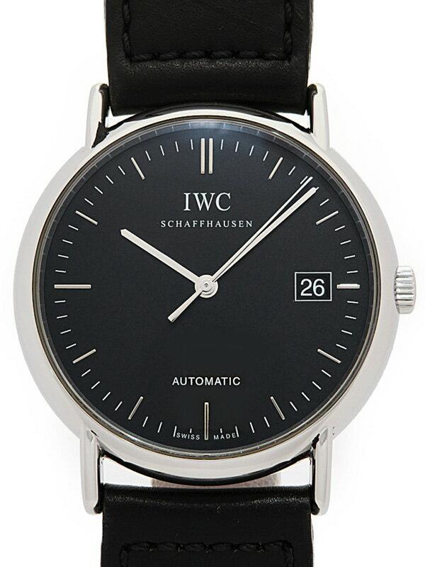 【IWC】【仕上済】インターナショナルウォッチカンパニー『ポートフィノ』IW353313 メンズ 自動巻き 3ヶ月保証【中古】