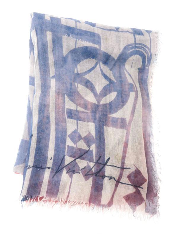 65b4d3ef615f 【LOUIS VUITTON】【イタリア製】ルイヴィトン『カシミヤ・シルクショール』レディース
