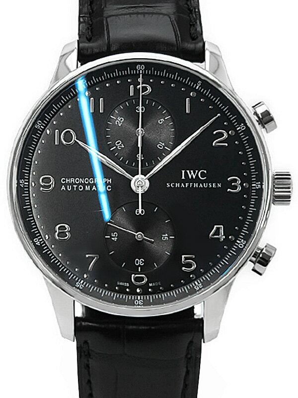 【IWC】インターナショナルウォッチカンパニー『ポルトギーゼ オートマティック クロノグラフ』IW371447 メンズ 自動巻き 6ヶ月保証【中古】