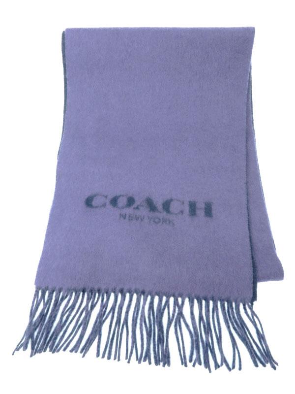 【COACH】コーチ『ウール×カシミヤ マフラー』F56209 メンズ 1週間保証【中古】
