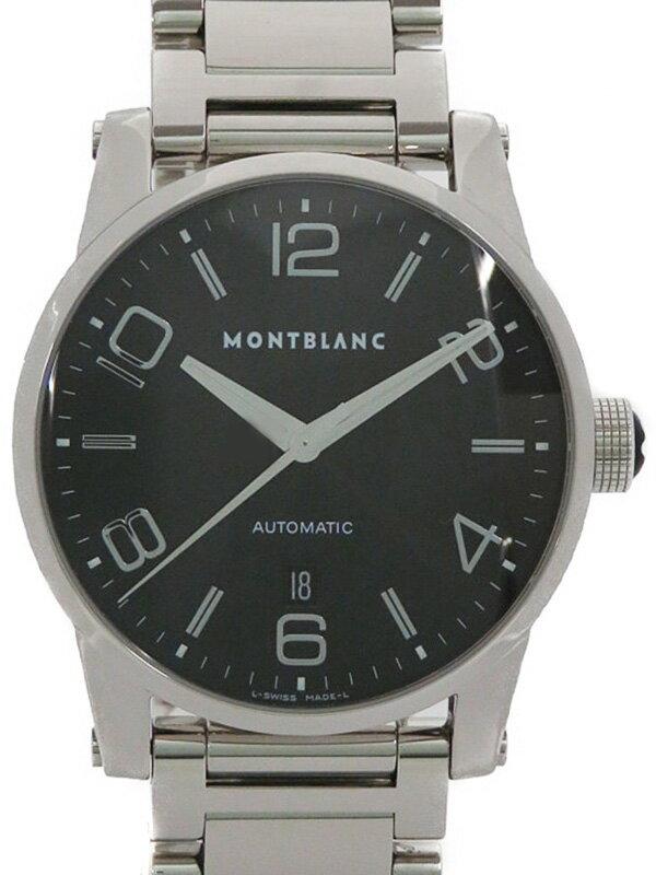 【MONTBLANC】【OH・仕上済】モンブラン『タイムウォーカー』7070 メンズ 自動巻き 3ヶ月保証【中古】