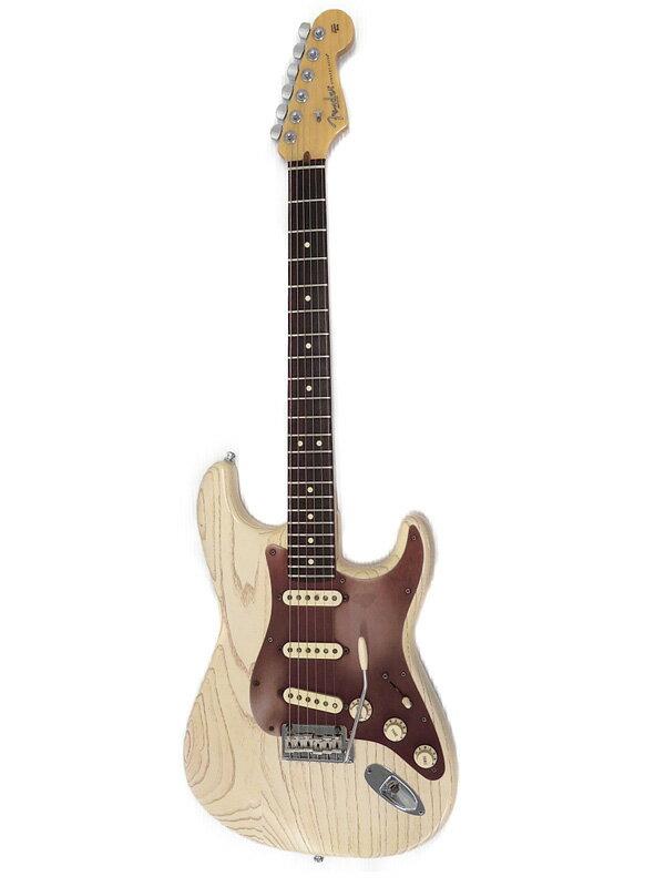【FenderUSA】【工房メンテ済】フェンダーUSA『エレキギター』FSR AM Strat Rustic Ash 2013年製 1週間保証【中古】