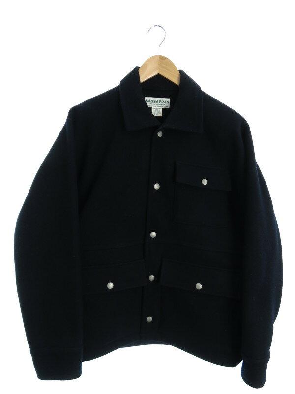 17750a3125623f 【SASSAFRAS】【日本製】【アウター】ササフラス『ハンティングジャケット sizeS』