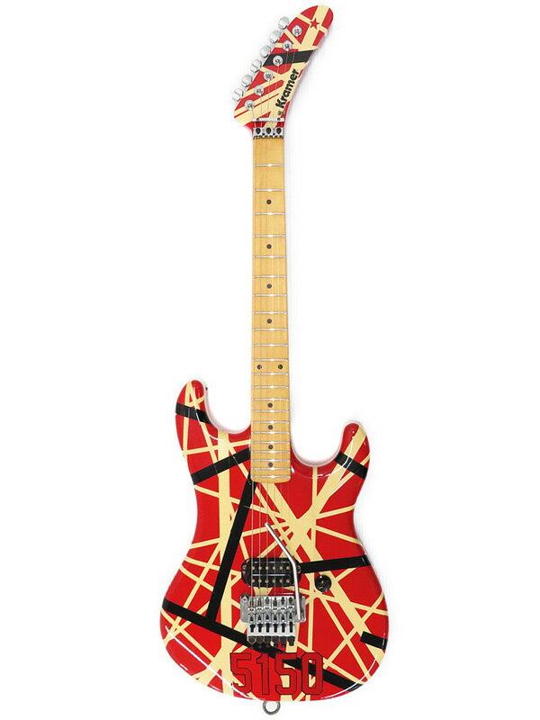 【Kramer】【工房メンテ済】クレイマー『エレキギター』EVH 5150 Replica 1週間保証【中古】