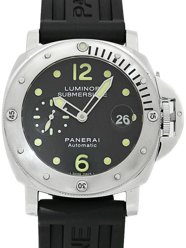 【PANERAI】【仕上済】パネライ『ルミノール サブマーシブル 44mm』PAM00024 L番'09年製 メンズ 自動巻き 12ヶ月保証【中古】