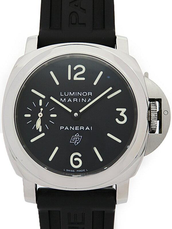 【PANERAI】【仕上済】パネライ『ルミノール マリーナ ロゴ 44mm』PAM00005 M番 '10年製 メンズ 手巻き 6ヶ月保証【中古】