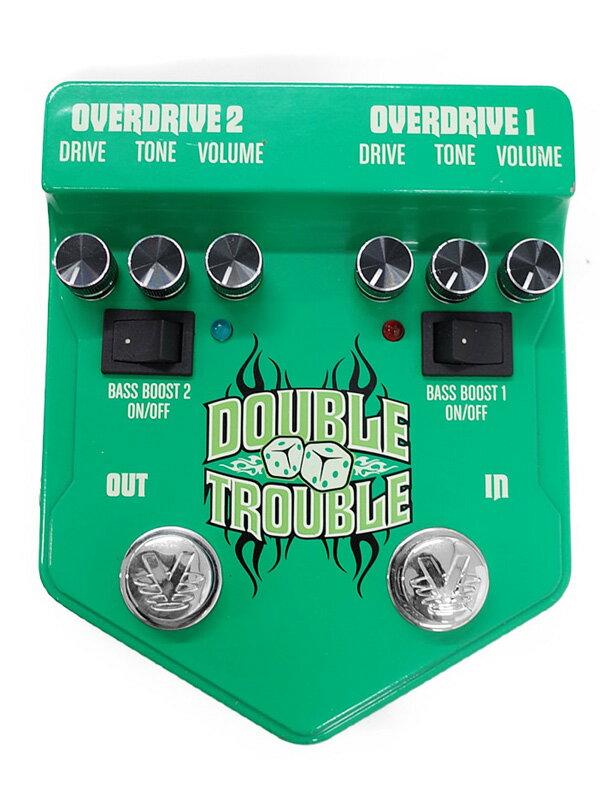 【Visual Sound】ビジュアルサウンド『オーバードライブ』DOUBLE TROUBLE エフェクター 1週間保証【中古】