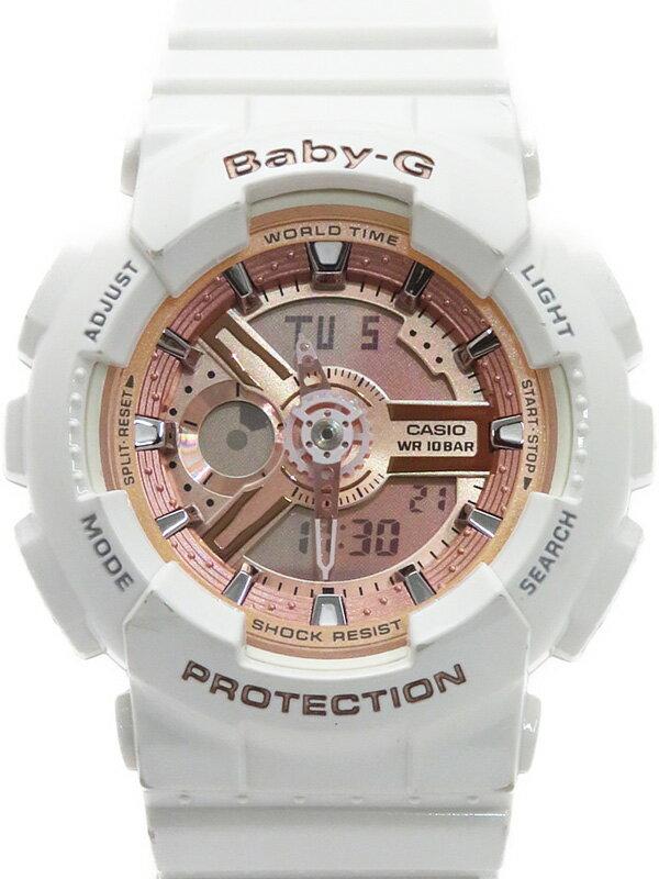 【CASIO】【Baby-G】【'18年購入】カシオ『ベビーG』BA-110-7A1JF レディース クォーツ 1週間保証【中古】