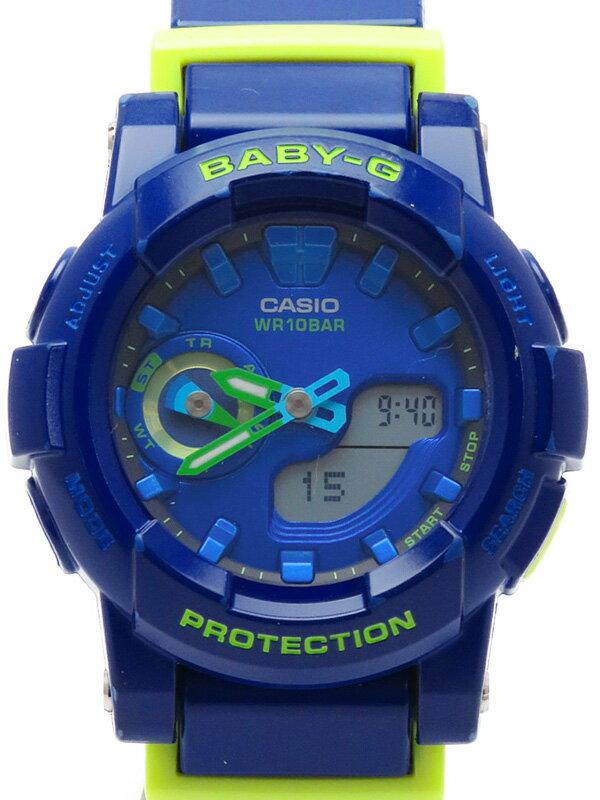 【CASIO】【BABY-G】カシオ『ベビーG ~for running』BGA-185FS-2A レディース クォーツ 1週間保証【中古】