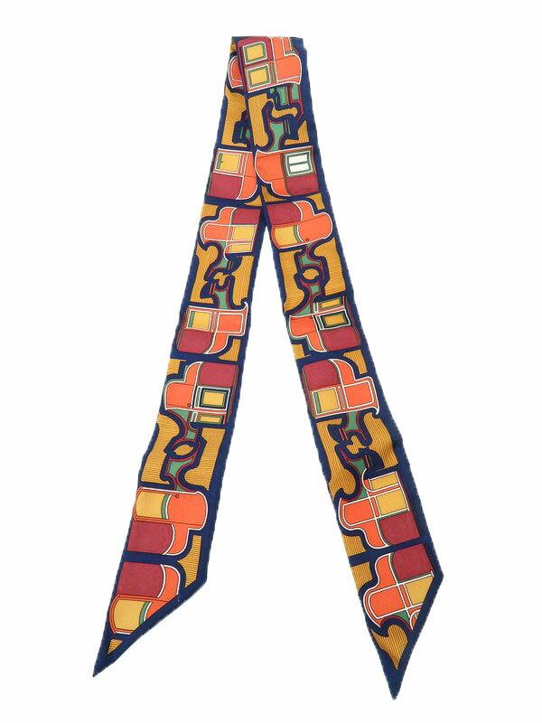 b0458b677fc0 【HERMES】【フランス製】エルメス『ツイリー』レディース スカーフ 1週間保証