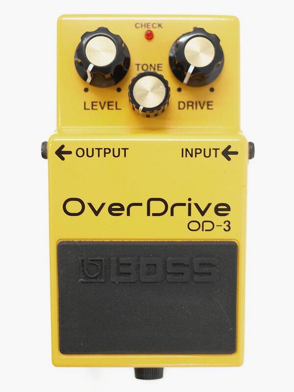 【BOSS】ボス『オーバードライブ』OD-3 コンパクトエフェクター 1週間保証【中古】