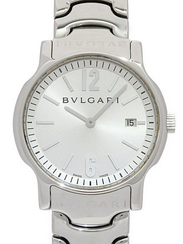 【BVLGARI】【仕上済】ブルガリ『ソロテンポ』ST35S ボーイズ クォーツ 1ヶ月保証【中古】