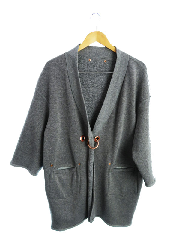 【DIESEL】【アウター】ディーゼル『リバーシブル七分袖コート sizeXS』レディース 1週間保証【中古】