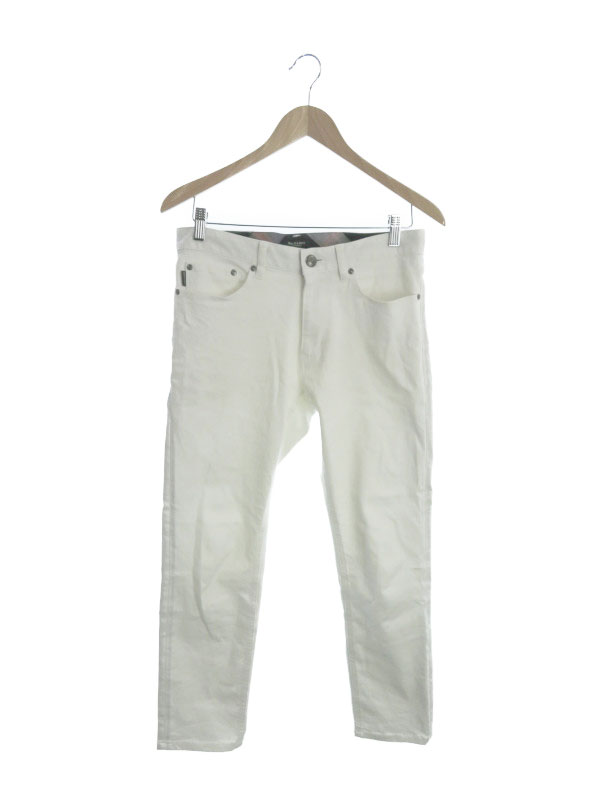 【BLACK LABEL CRESTBRIDGE】【ジーパン】ブラックレーベルクレストブリッジ『ホワイトジーンズ size76』51R40-806-02 メンズ デニムパンツ 1週間保証【中古】