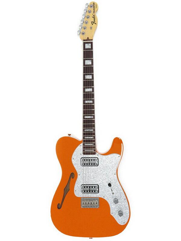 【FenderUSA】【2018 LIMITED EDITION】 フェンダーUSA『エレキギター』TELE THINLINE SUPER DELUXE 2017年製 1週間保証【中古】