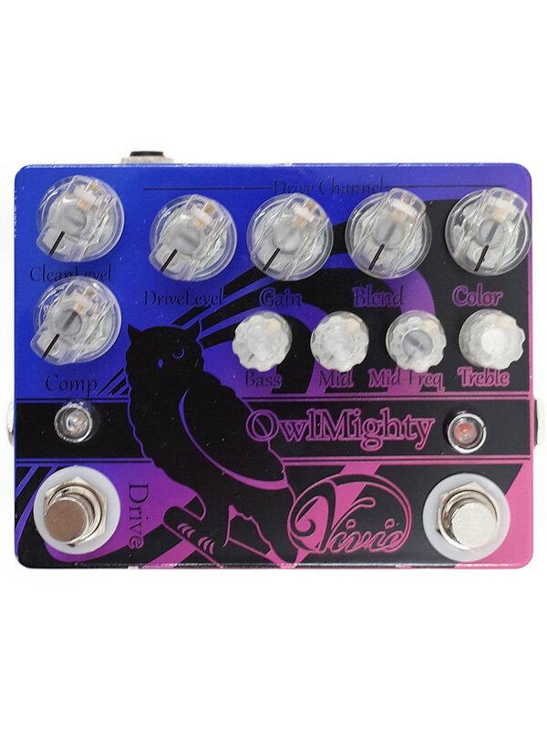 【Vivie】ビビー『ベースプリアンプ』Owl Mighty Bass Preamp エフェクター 1週間保証【中古】