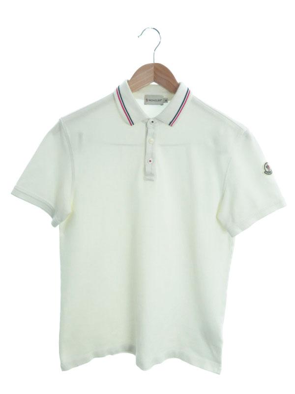 【MONCLER】【トップス】モンクレール『MAGLIA POLO MANICA CORTA 半袖ポロシャツ sizeM』メンズ 1週間保証【中古】