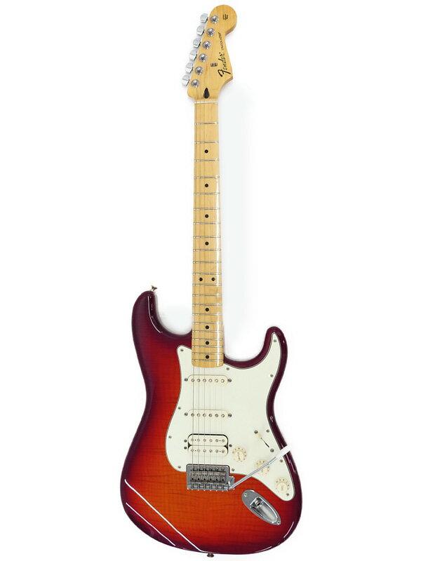 【FenderMEXICO】フェンダーメキシコ『エレキギター』Std Stratocaster SSH Plus Top 2015年製 1週間保証【中古】