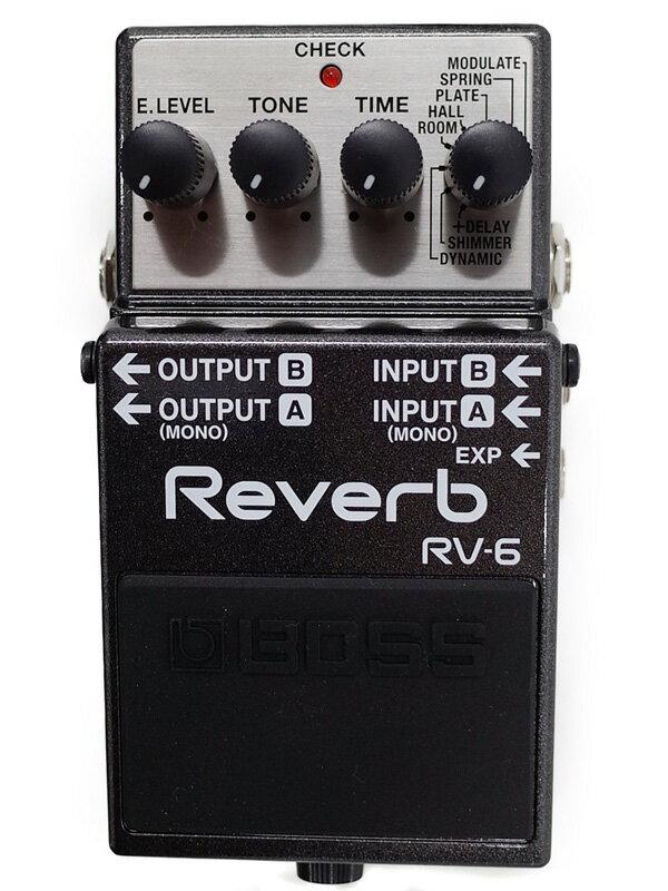 【BOSS】ボス『リバーブ』RV-6 コンパクトエフェクター 1週間保証【中古】