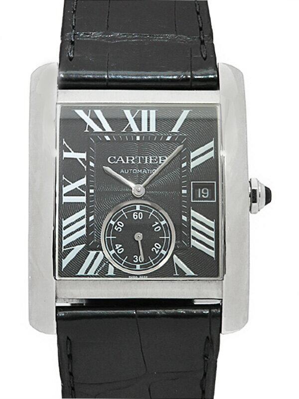 【Cartier】【裏スケ】【仕上済】カルティエ『タンクMC LM』W5330004 メンズ 自動巻き 6ヶ月保証【中古】