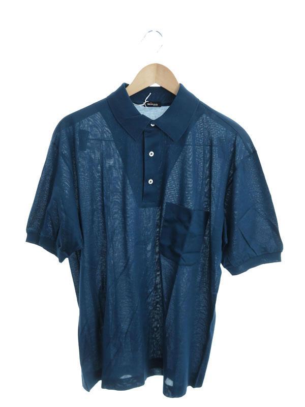 【kiton】【イタリア製】【トップス】キートン『半袖ポロシャツ size52』メンズ 1週間保証【中古】