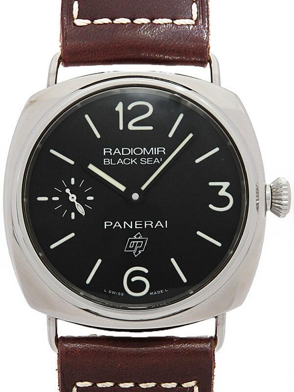 【PANERAI】【仕上済】パネライ『ラジオミール ブラックシール ロゴ』PAM00380 N番'11年製 メンズ 手巻き 6ヶ月保証【中古】