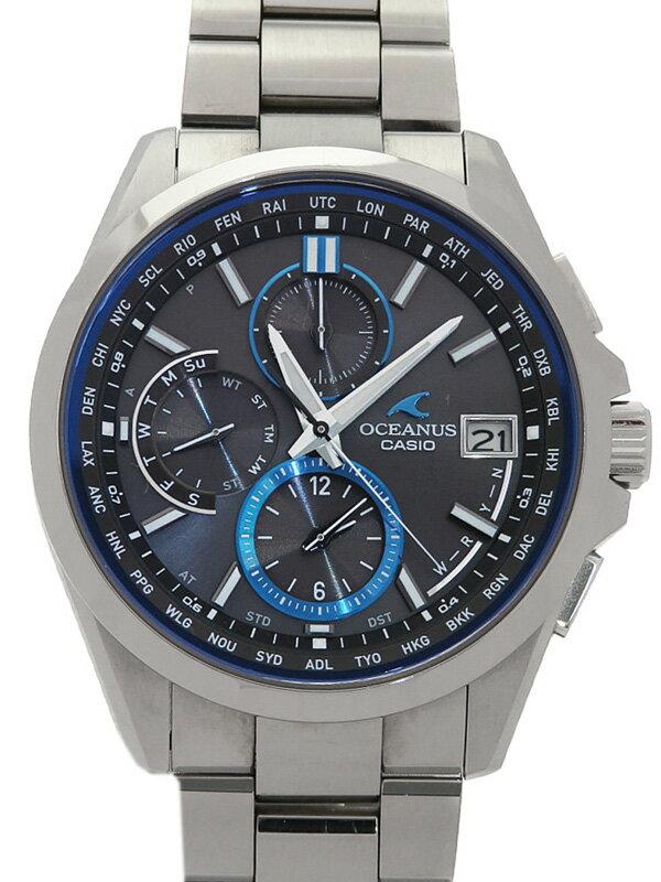 【CASIO】【OCEANUS】カシオ『オシアナス』OCW-T2600-1AJF メンズ ソーラー電波クォーツ 1ヶ月保証【中古】