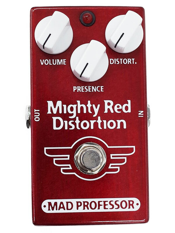 【Mad Professor】マッドプロフェッサー『ディストーション』New Mighty Red Distortion コンパクトエフェクター 1週間保証【中古】