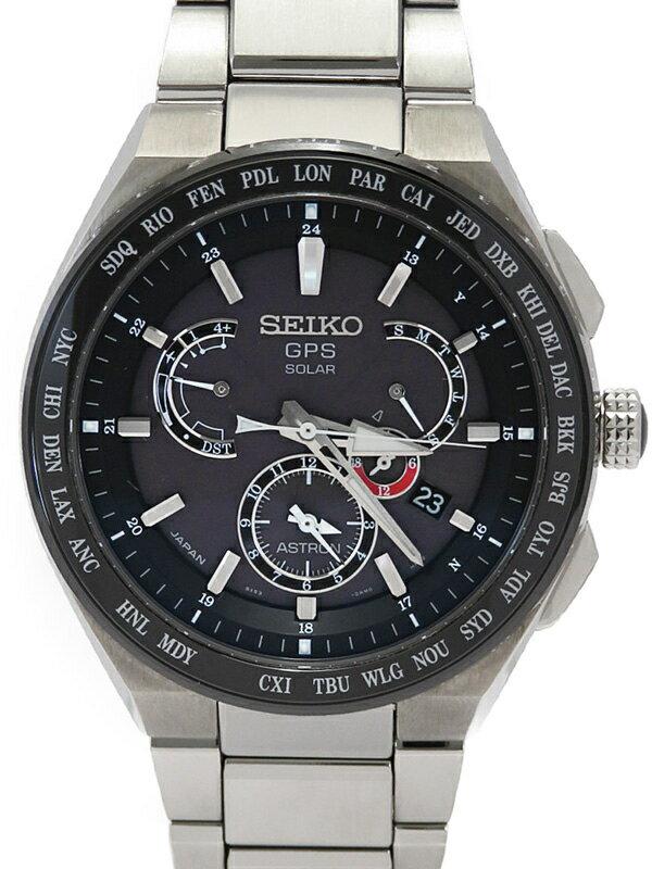 【SEIKO】セイコー『アストロン』SBXB123 8X53-0AV0 73****番 メンズ ソーラーGPS 3ヶ月保証【中古】