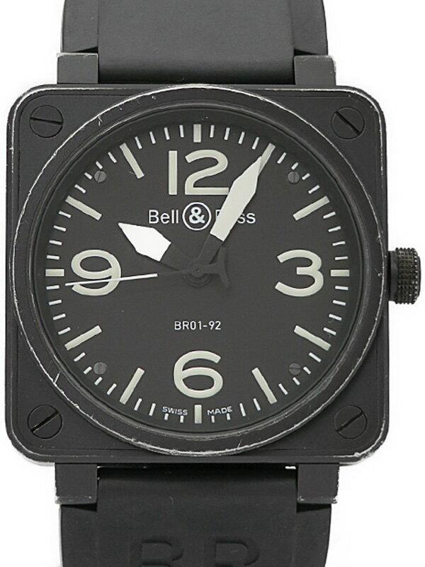 【Bell&Ross】ベルアンドロス『アヴィエーション』BR01-92 メンズ 自動巻き 3ヶ月保証【中古】