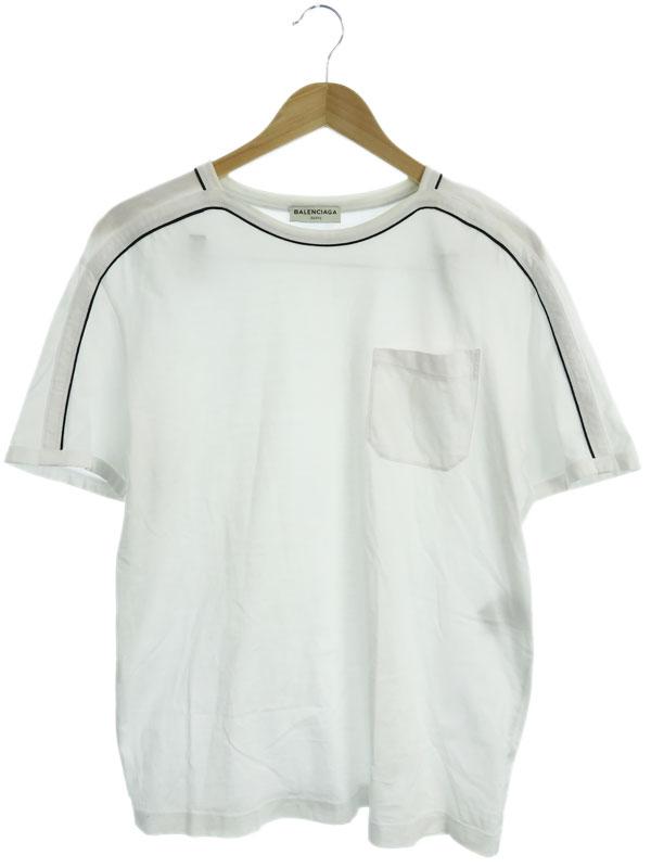 【BALENCIAGA】【ポルトガル製】【トップス】バレンシアガ『半袖Tシャツ sizeS』375796 TMK34 2014 メンズ カットソー 1週間保証【中古】