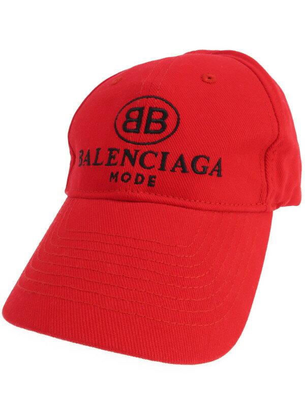 【BALENCIAGA】【HAT EMBRO BB MODE CAP】【帽子】バレンシアガ『キャップ sizeL 59cm』2018SS メンズ 帽子 1週間保証【中古】