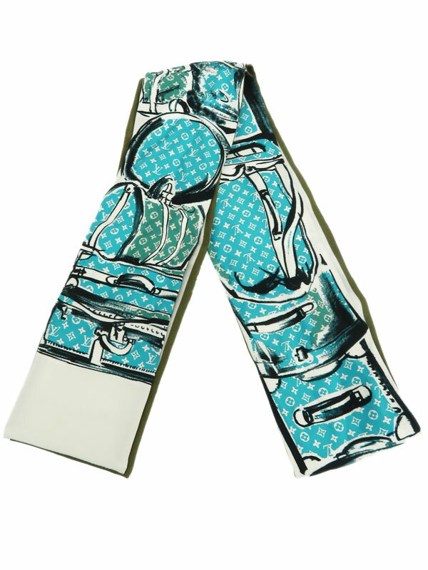 8c2fbc8400b5 【Louis Vuitton】ルイヴィトン『バンドー』レディース スカーフ 1週間保証【中古