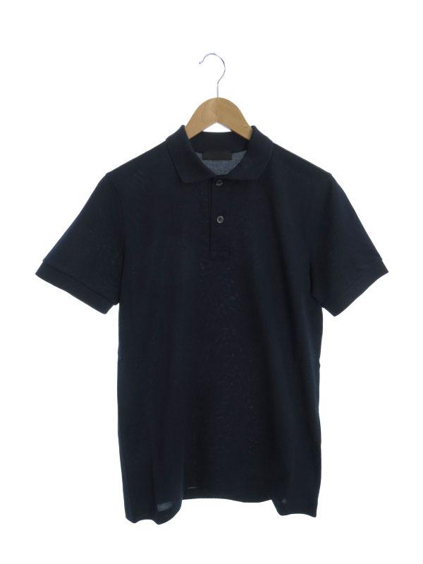 【PRADA】【トップス】プラダ『半袖ポロシャツ sizeXS』メンズ 1週間保証【中古】