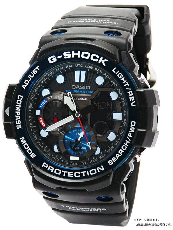 【CASIO】【G-SHOCK】【18年購入】カシオ『Gショック ガルフマスター』GN-1000B-1AJF メンズ クォーツ 1週間保証【中古】
