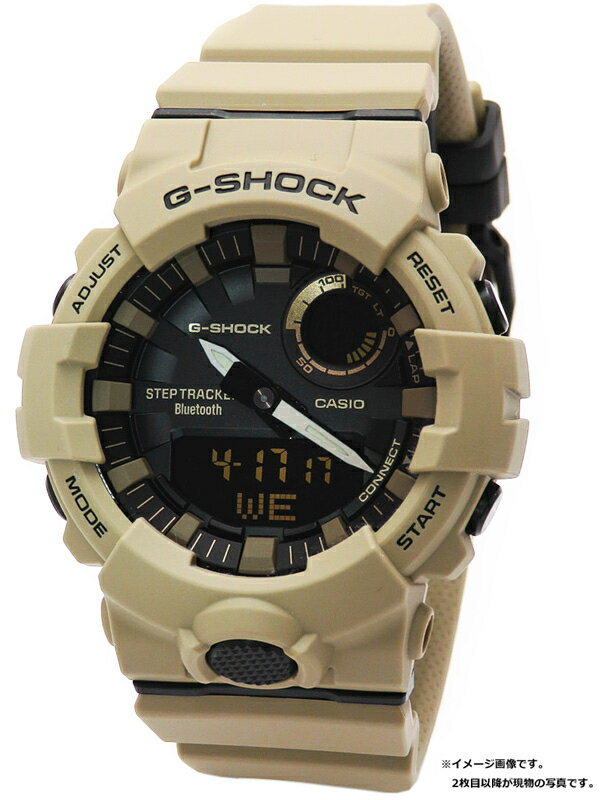【CASIO】【G-SHOCK】【モバイルリンク】【'19年購入】【美品】カシオ『Gショック ジースクワッド』GBA-800UC-5AJF メンズ クォーツ 1週間保証【中古】