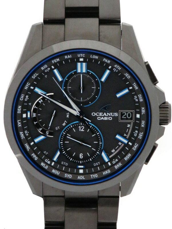 【CASIO】【OCEANUS】カシオ『オシアナス』OCW-T2600G-1AJF メンズ ソーラー電波クォーツ 1ヶ月保証【中古】