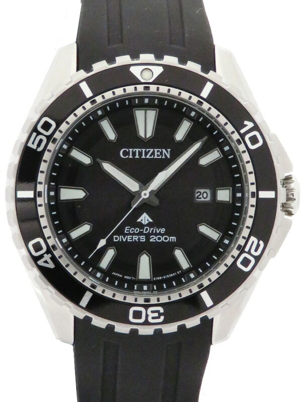 【CITIZEN】【′19年購入】シチズン『プロマスター ダイバー200』BN0190-15E メンズ ソーラークォーツ 1週間保証【中古】
