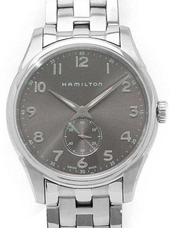 【HAMILTON】ハミルトン『ジャズマスター シンライン プチセコンド』H38411183 メンズ クォーツ 1週間保証【中古】