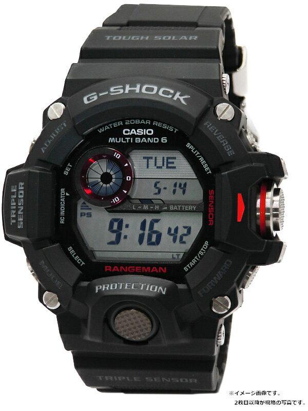 【CASIO】【G-SHOCK】【海外モデル】カシオ『Gショック レンジマン』GW-9400-1ER メンズ ソーラー電波クォーツ 1週間保証【中古】