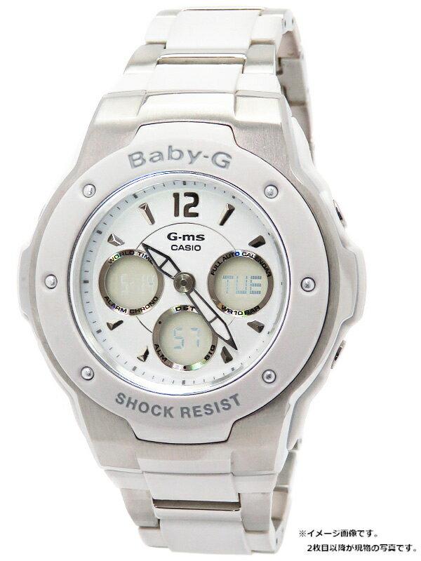 【CASIO】【Baby-G】カシオ『ベビーG G-ms ジーミズ』MSG-300C-7B1JF レディース クォーツ 1週間保証【中古】