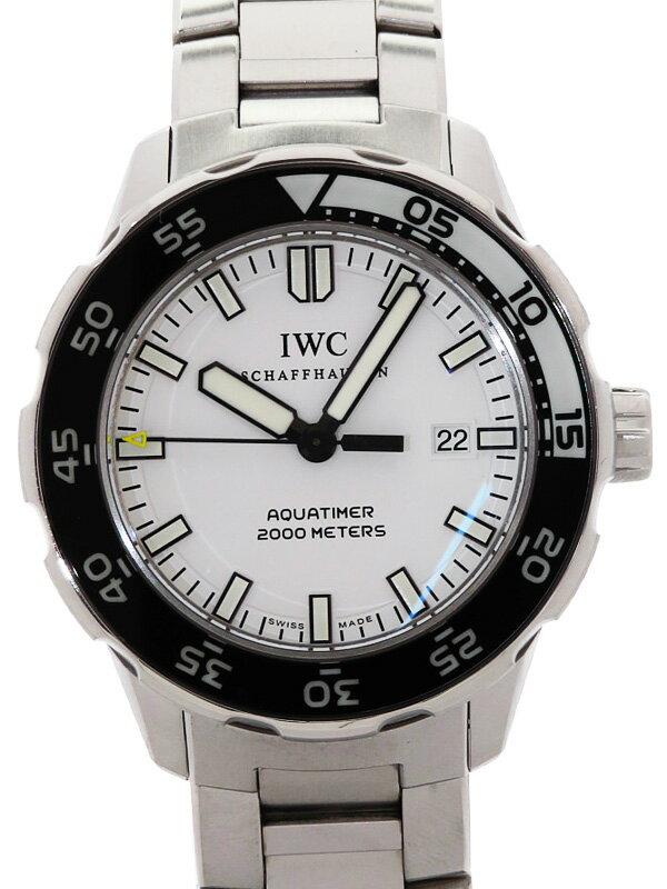 【IWC】【仕上済】インターナショナルウォッチカンパニー『アクアタイマー オートマティック2000』IW356809 メンズ 自動巻き 3ヶ月保証【中古】